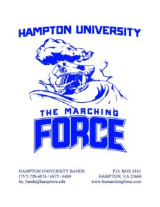 HU Marching Force 2018 Band Camp Letter - The Hampton